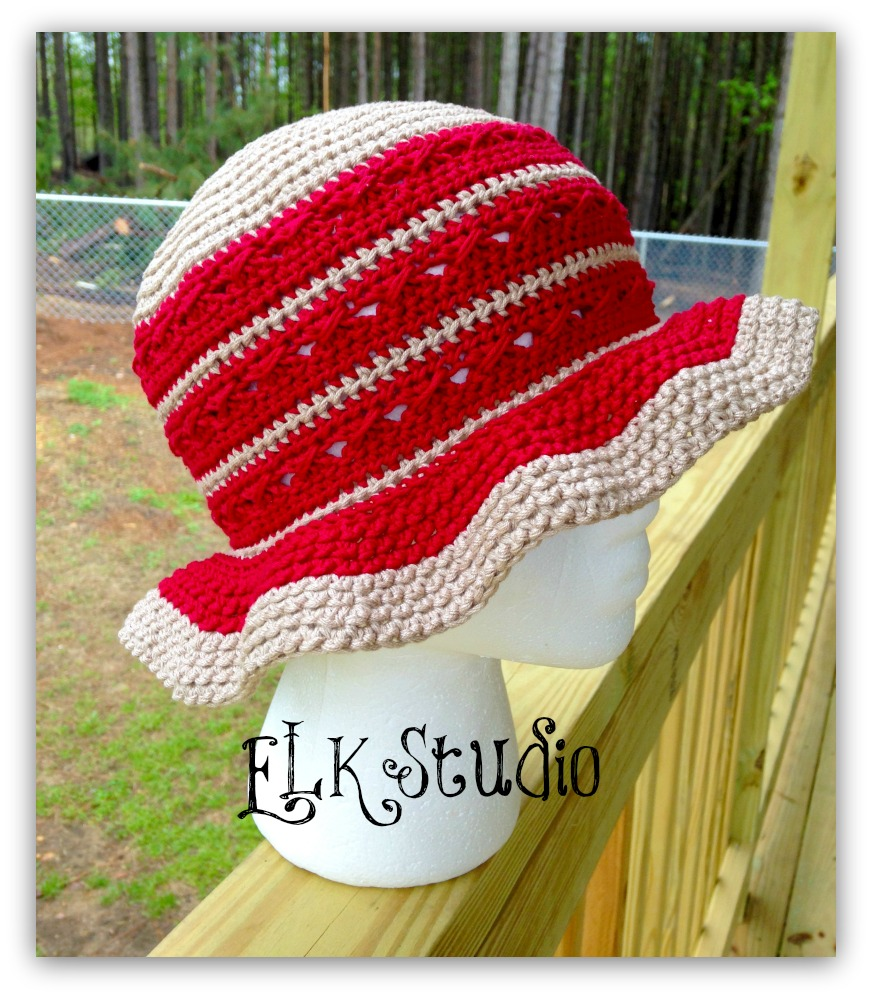 Southern Comfort A Free Summer Hat Designed For The Crochet For