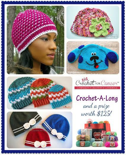 Crochet For Cancer Crochet-a-Long
