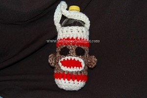 Sock Monkey Cozy by Posh Pooch Designs