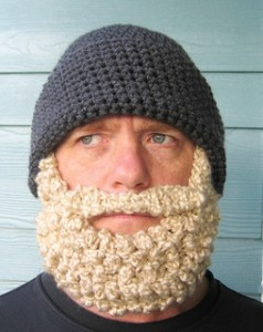 Crochet Beard by Simply Collectible Crochet