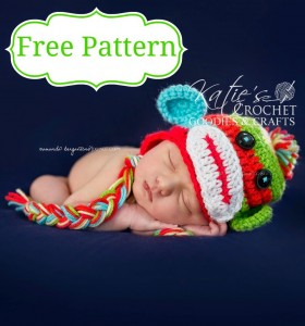 freemonkeypattern by Katie's Crochet Goodies
