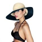 Sun hat designed by Philip Treacy