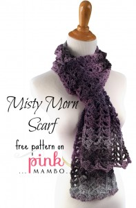 Misty Morning Scarf by Pink Mambo