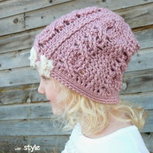 Cabled Hat Pattern by Strings with Style