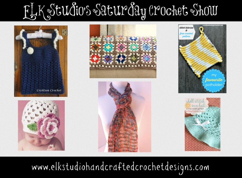 ELK Studio's Saturday Crochet Show Week #10