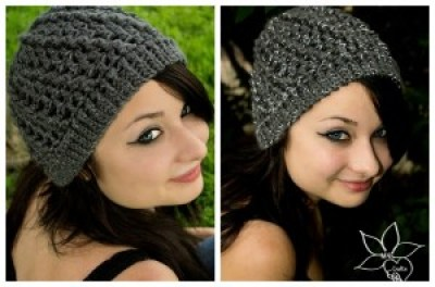 Spiraling Out of Control Beanie by MNE Crafts