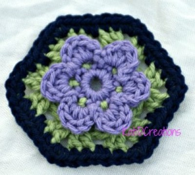 Granny-Hexigon by Katid Creations