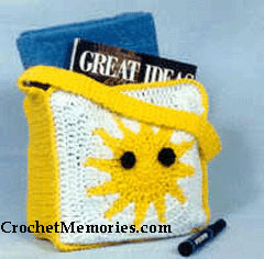 Kids Tote by Crochet Memories