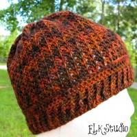 """Pumpkin Spice"" - A Free Crochet Beanie Pattern!"