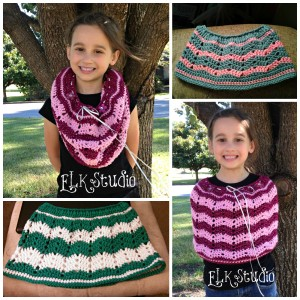 Jayden's Shawlette Collage by ELK Studio