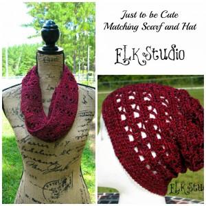 Just to be Cute Matching Scarf and Beanie by ELK Studio