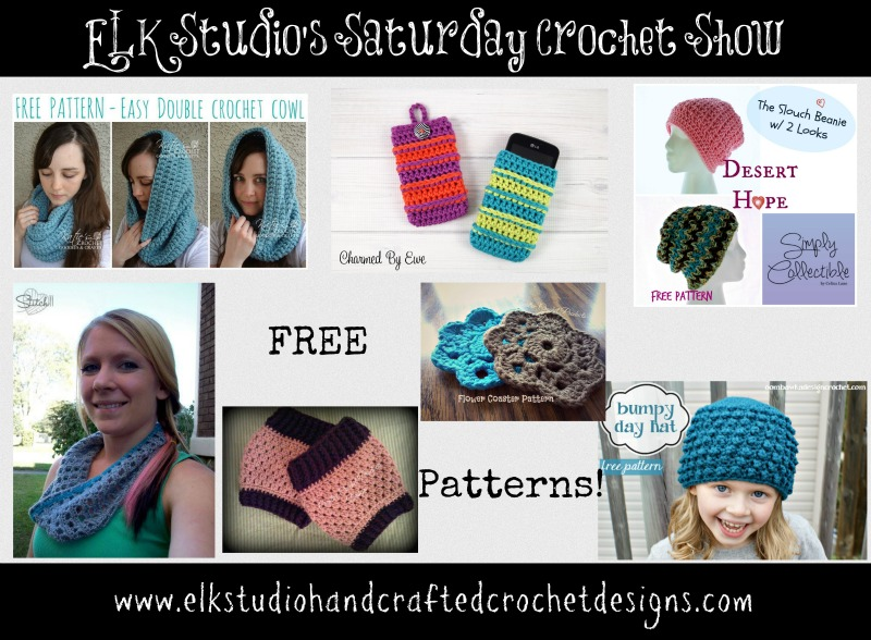 ELK Studio's Saturday Crochet Show Week 16