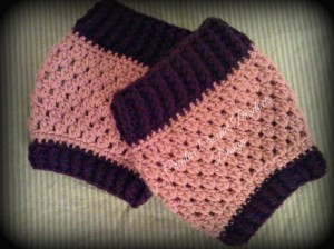 Boot cuffs by Creative Crochet Products