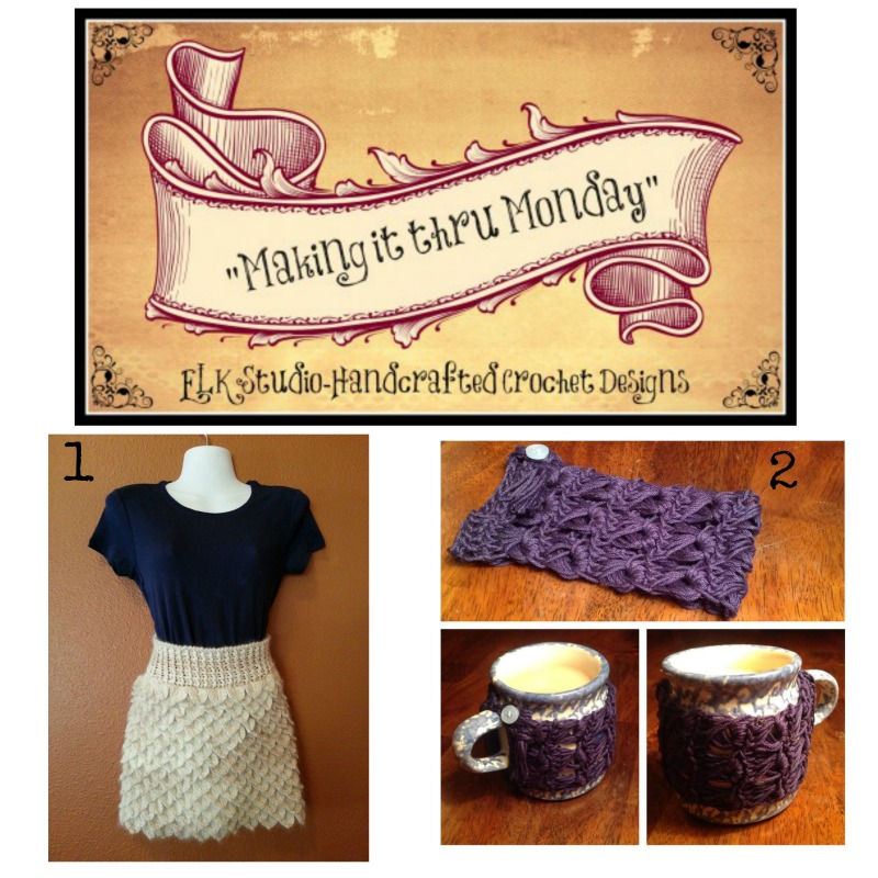 """Making it thru Monday"" Crochet Review #68 by ELK Studio"