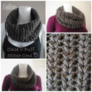 Chloe Cowl by Cre8tion Crochet