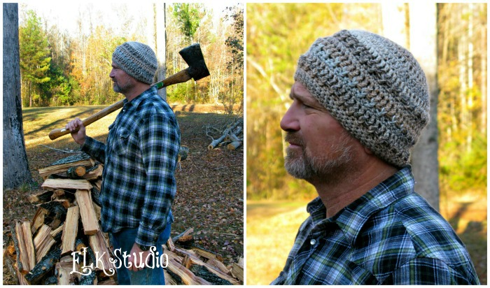 Hickory Bark - A Free Crochet Beanie by ELK Studio