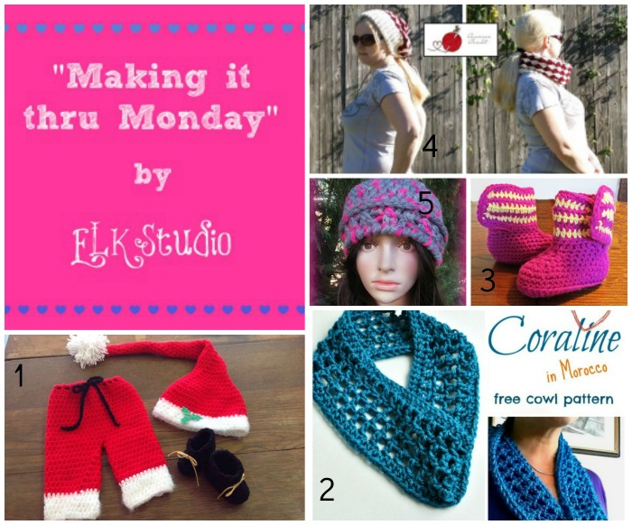 Making it thru Monday Crochet Review #75 #crochet #MITM