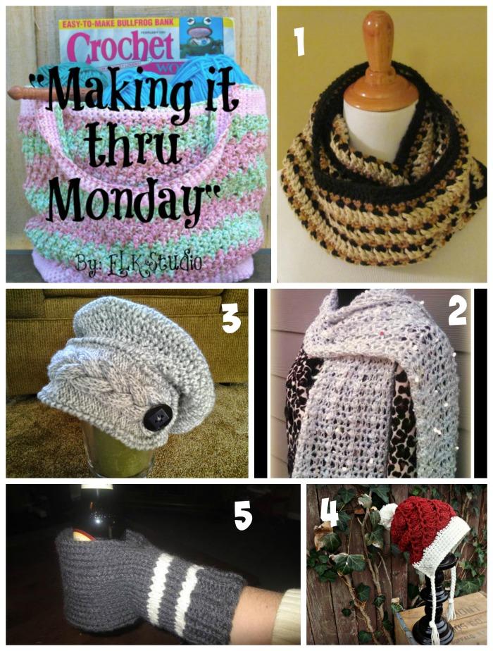 Making it thru Monday Crochet Review #76 by ELK Studio