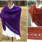 Wrapped In Warmth Crochet Shawl!