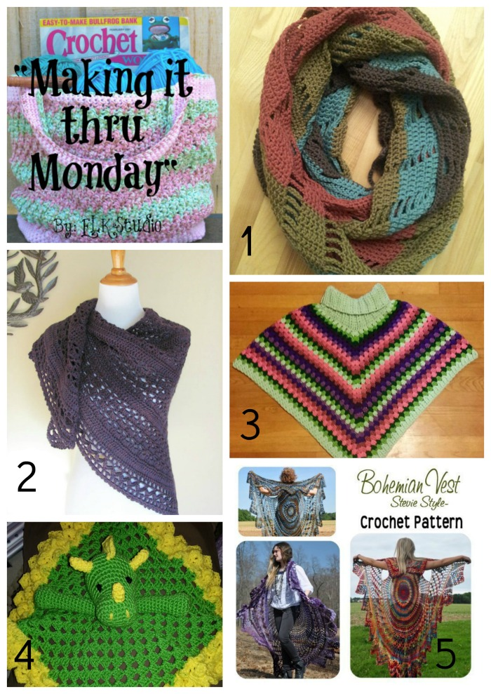 Making it thru Monday Crochet Review #82 by ELK Studio