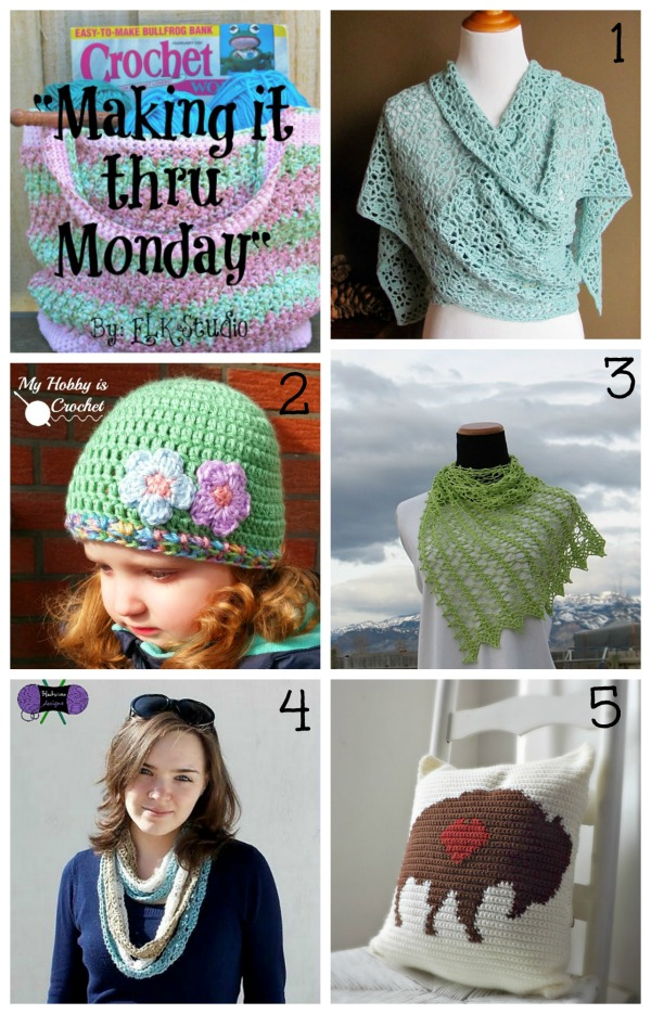 Making it thru Monday Crochet Review #85 by ELK Studio #crochet #patterns