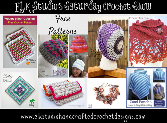 ELK Studio's Saturday Crochet Show #21 #crochet #free patterns