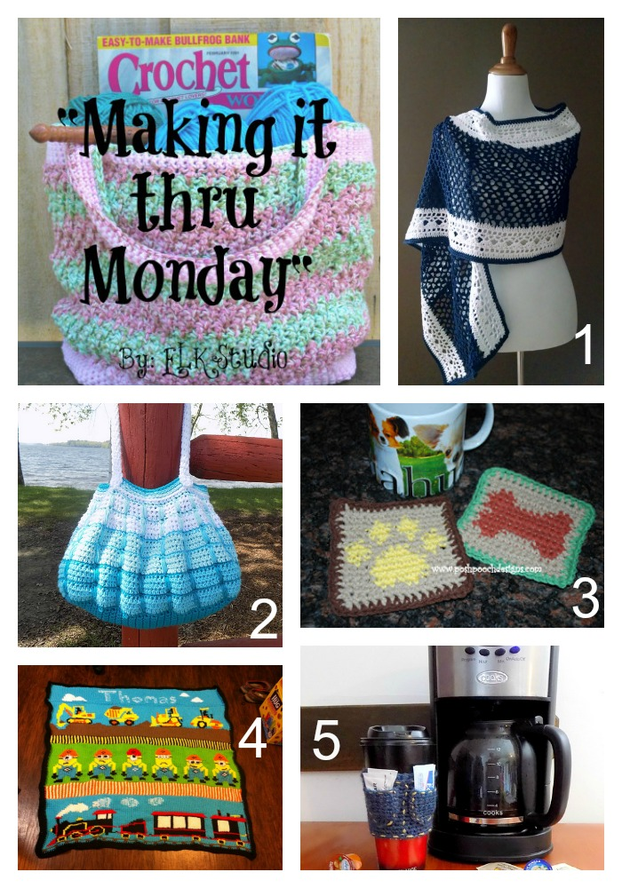 Making it thru Monday Crochet Review #90 by ELK Studio  Find your Crochet Inspiration