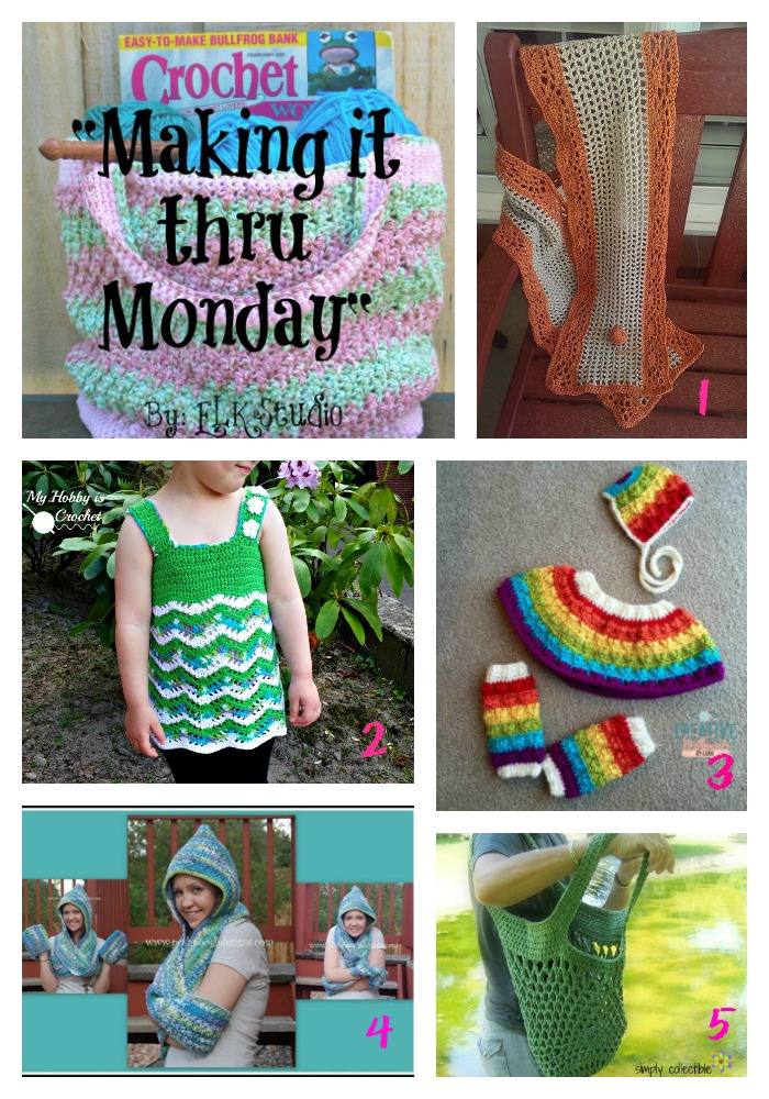 Making it thru Monday Crochet Review #91 by ELK Studio!
