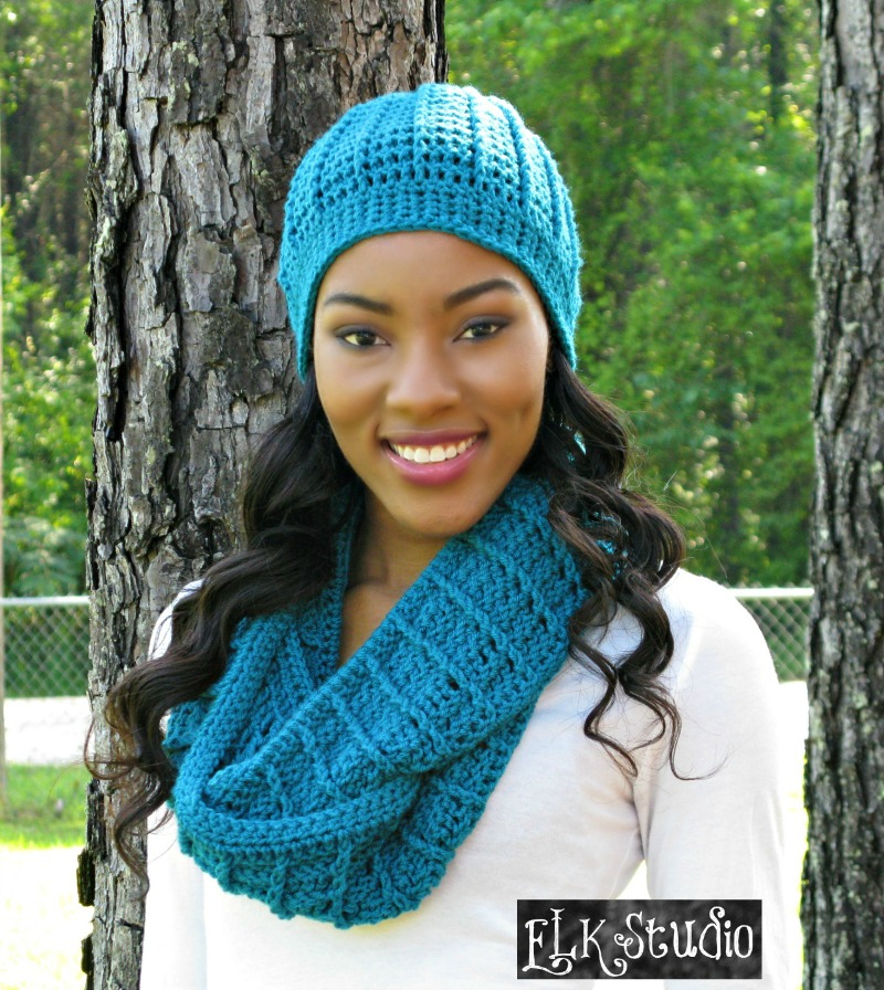 Country Appeal Beanie and Scarf by ELK Studio