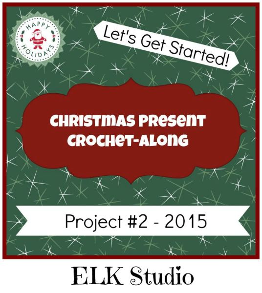 Christmas Present Crochet-Along Project #2 by ELK Studio