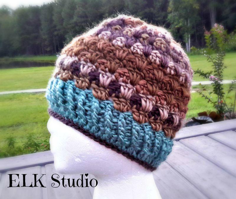 90540d26ac4 Lookin Lovely Beanie by ELK Studio! Free Crochet Beanie Pattern You will  love it!