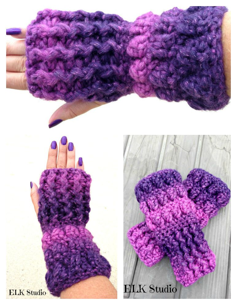 Christmas Present Crochet-Along Project #4 Bulky Weight by ELK Studio. Get your FREE pattern HERE!