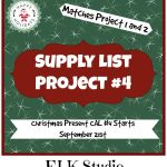 Christmas Present Crochet-Along Project #4 Supply List