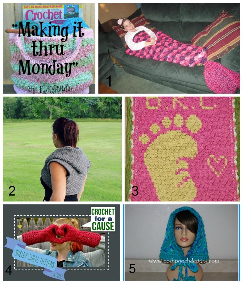 Making it thru Monday Crochet Review #98 by ELK Studio