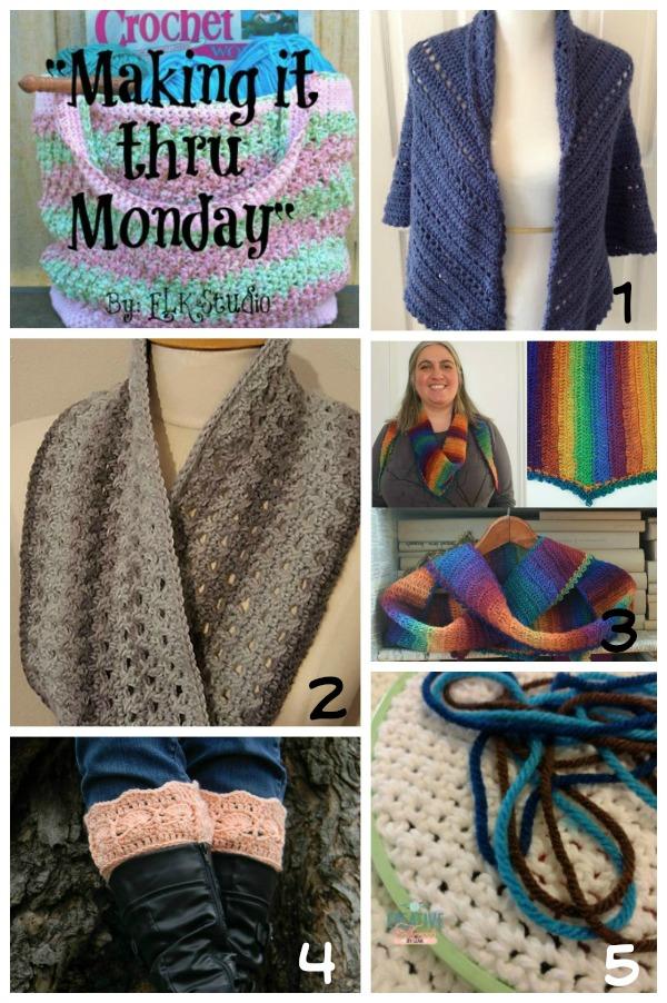 Making it thru Monday Crochet Review 103