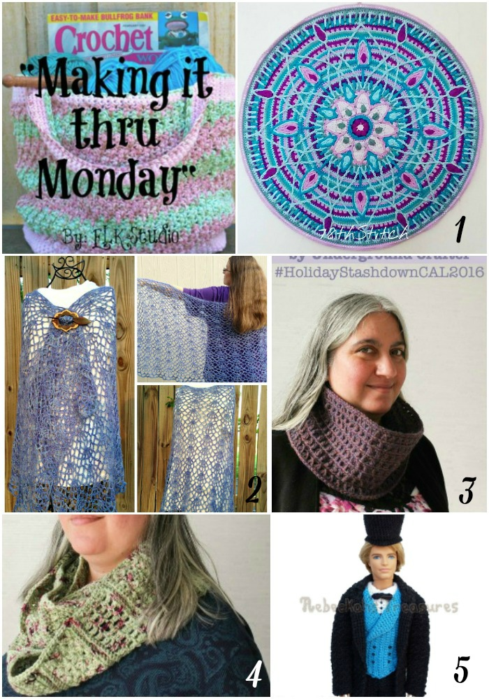 Making it thru Monday Crochet Review 108