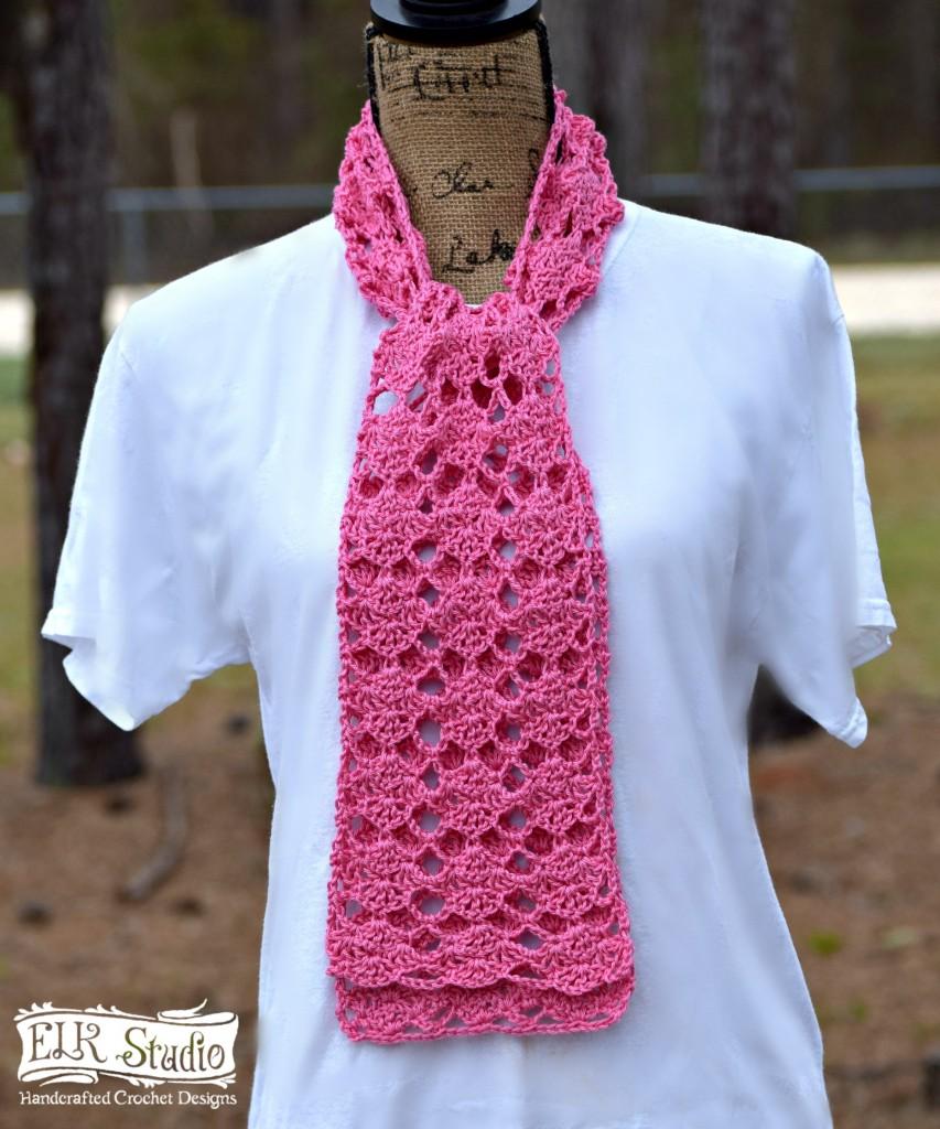 Sweet Pink Scarf by ELK Studio