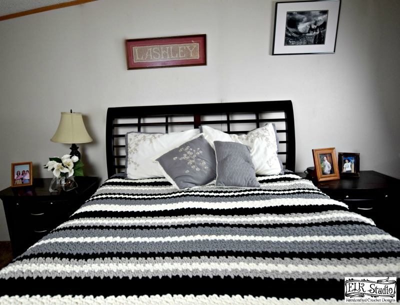A Touch of Southern Warmth Blanket by ELK Studio - A Free Crochet Pattern