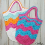 Chevron Market Bag