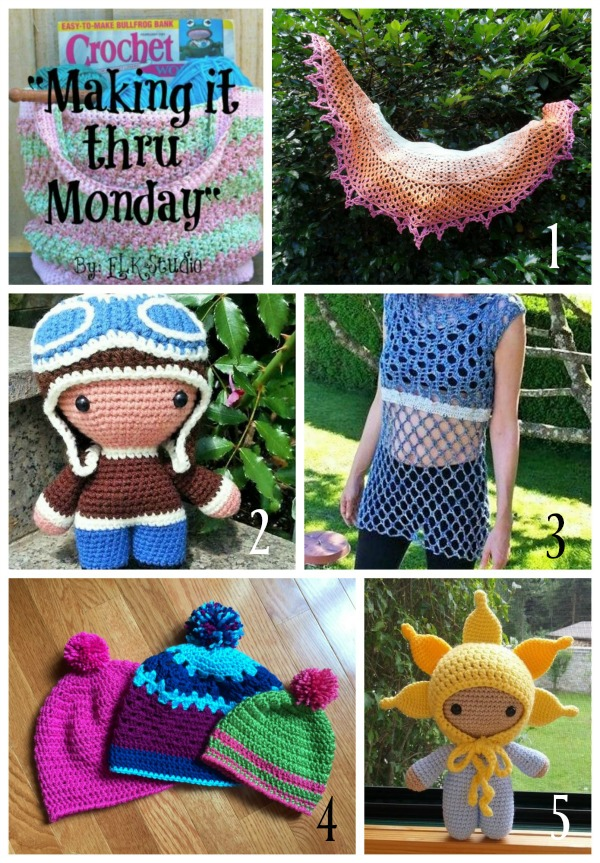 Making it thru Monday Crochet Review 118