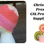 2016 Christmas Present CAL Project #4 Supply List!