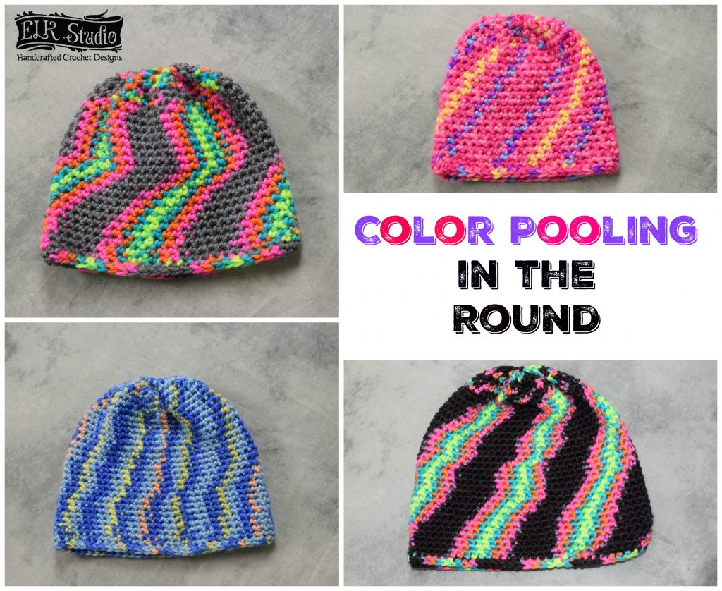 Color Pooling While Working in the Round by ELK Studio