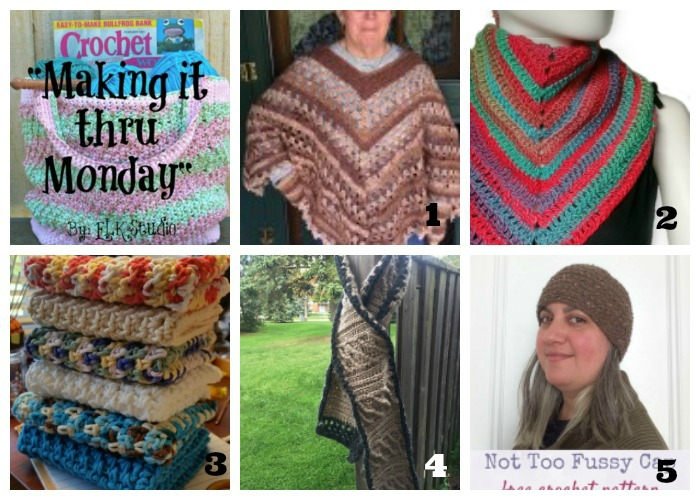 Making it thru Monday Crochet Review #124
