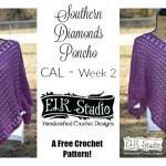 Southern Diamonds Poncho CAL Week 2