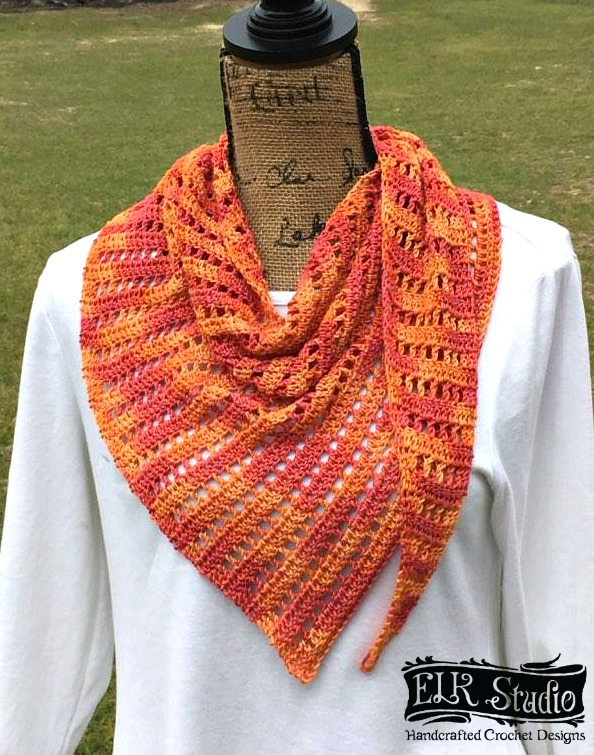 Naturally Southern Scarf Elk Studio Handcrafted Crochet Designs