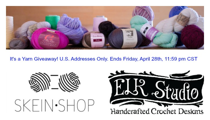 It's an ELK Studio and Skein Shop Yarn Giveaway!