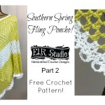 Southern Spring Fling Poncho – Part 2