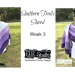 Southern Trails Shawl Week 3