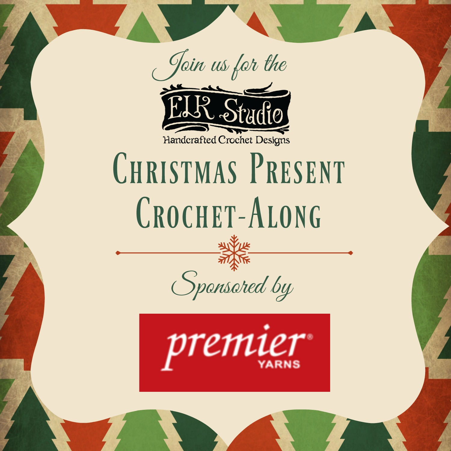 Christmas Present Crochet-Along by ELK Studio Sponsored by Premier Yarns