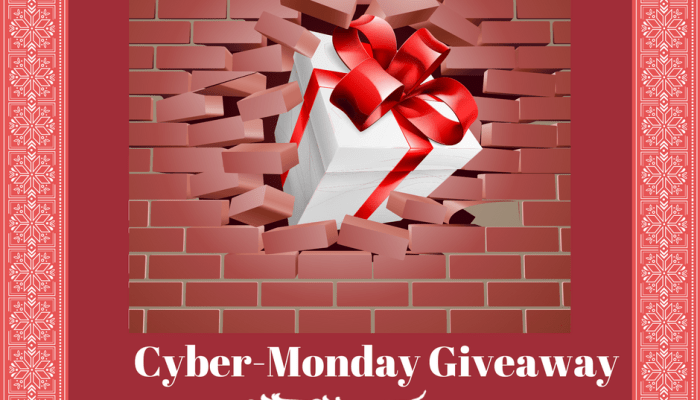 Getting Ready for Cyber-Monday Celebration!